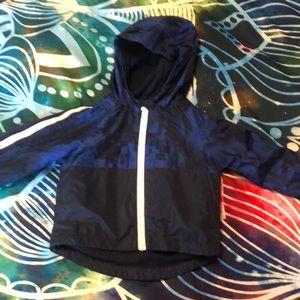 Toddler boy windbreaker lined jacket coat